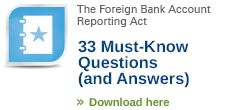 FBAR FAQ