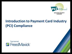 Intro to PCI slideshow cover