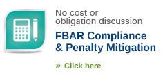 FBAR compliance and penalty mitigation