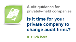 Is it time to change audit firms