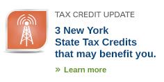 NY State Tax Credits