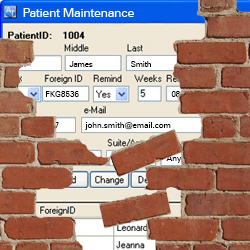 patient security breach
