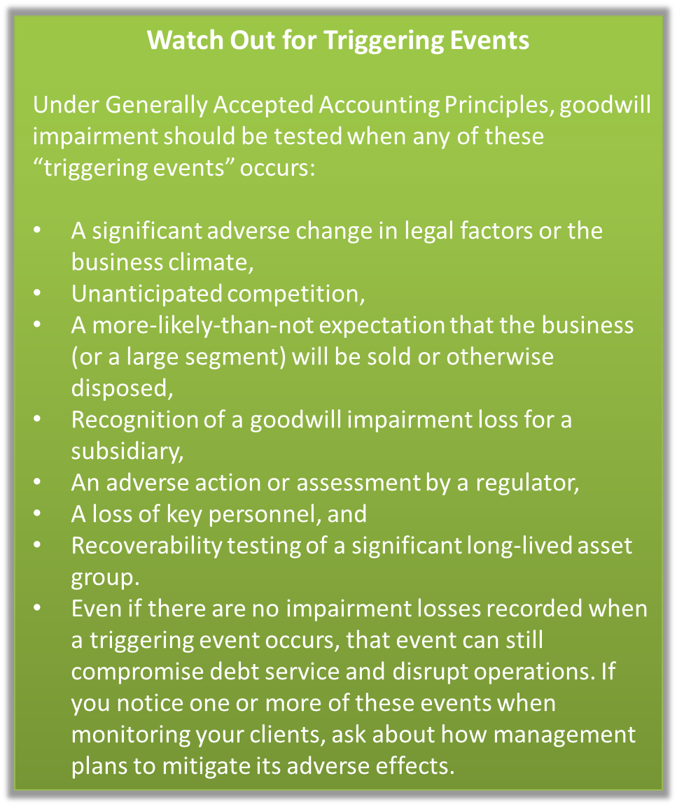 Accounting standard updates