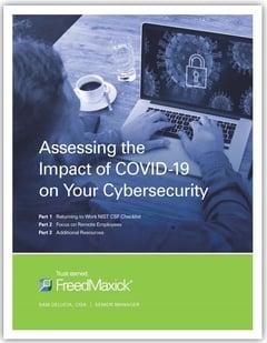 Covid-19 Cybersecurity Checklist Cover