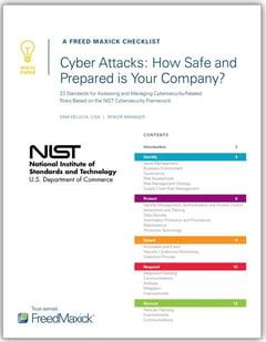 NIST Checklist