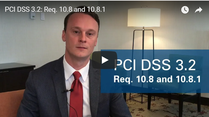 PCI DSS Req. 10.8 and 10.8.1